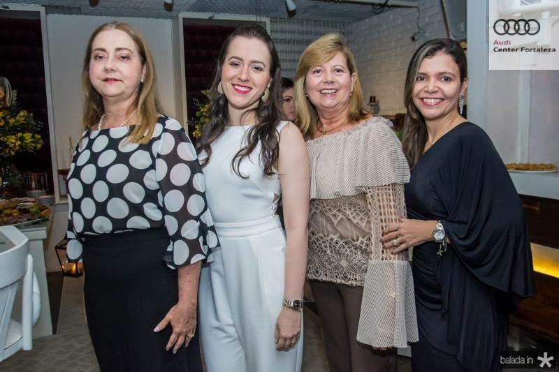 Cristiana Alves, Georgiana Alves, Celia Ferraz e Cristina Cortez