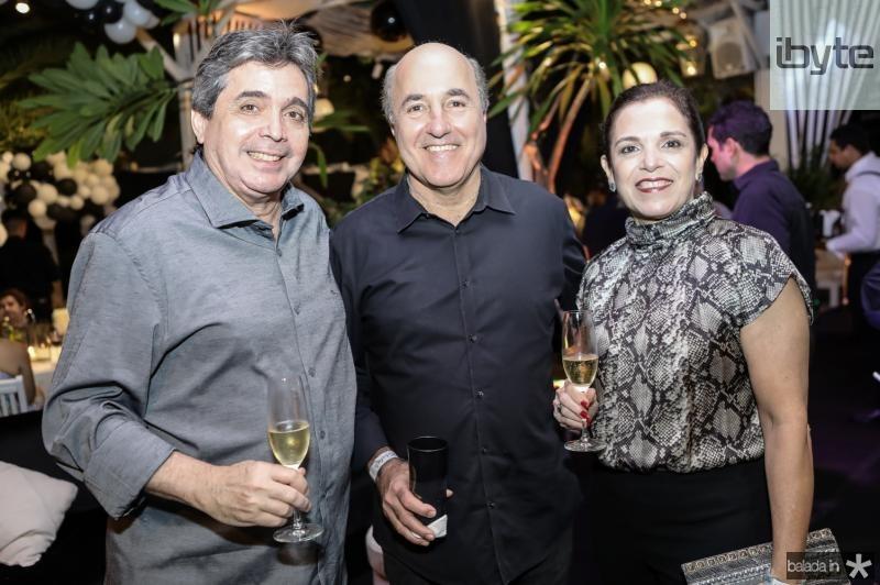 Totonho Laprovitera, Silvio Frota e Eluza Laprovitera
