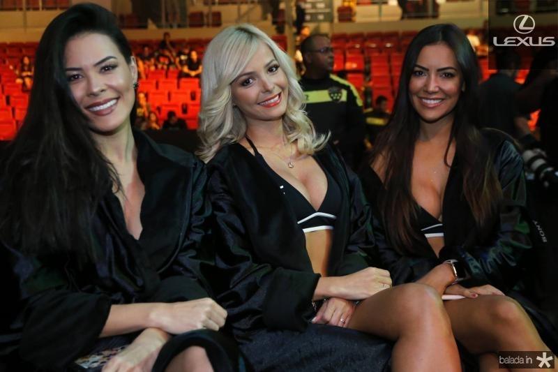 Camila Oliveira, Jhenny e Luciana Andrade