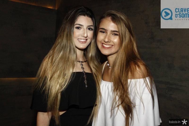 Giselle Dantas e Raissa Cerqueira