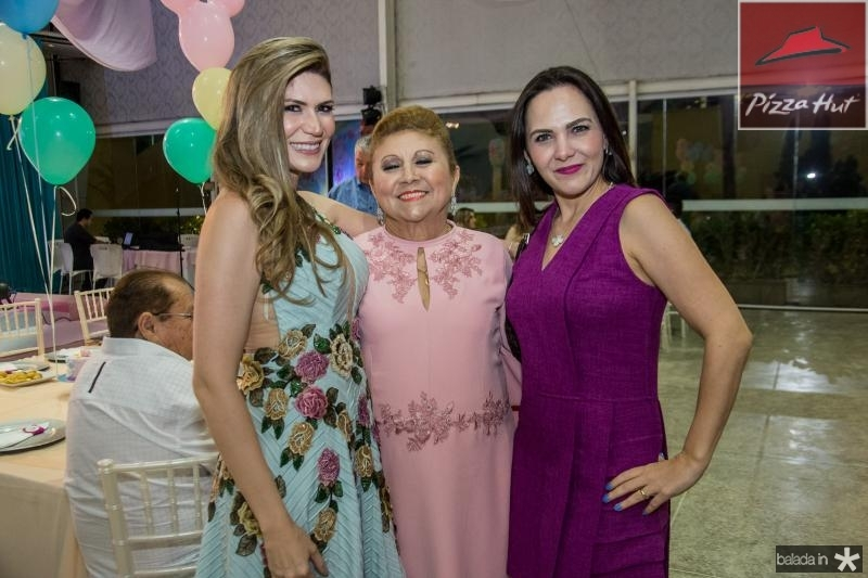 Elaine Aragao, Marluce Aragao e Kelly Bertosi