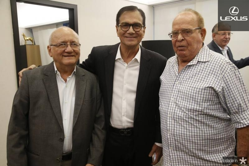 Aluisio Ramalho, Beto Studart e Guilherme Guimaraes