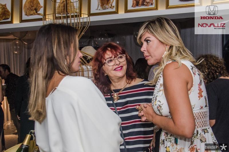 Ana Carolina Fontenele, Gladys Esmeraldo e Patricia Dias
