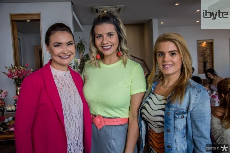 Ana Clara Rocha, Anelisa Barreira e Letícia Studart
