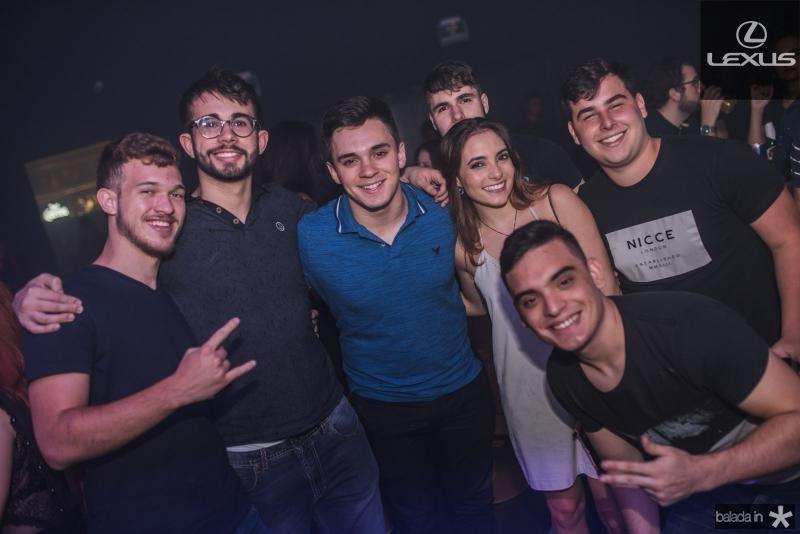 Niko Sobreire, Luiz oliveira, Caio Alves, Rafaela e Arthur Mahcado, Bruno Serpa