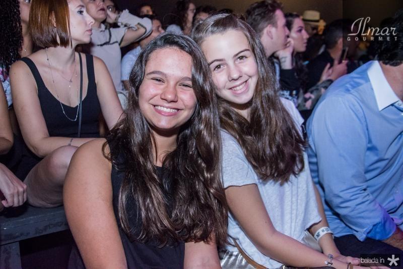 Maria Eduarda e Maria Julia Lima