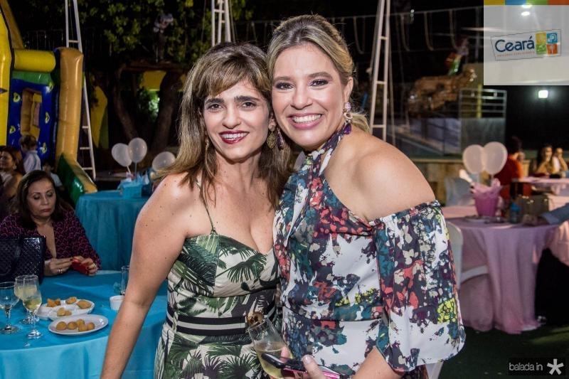 Samara Roccy e Ana Claudia Aguiar