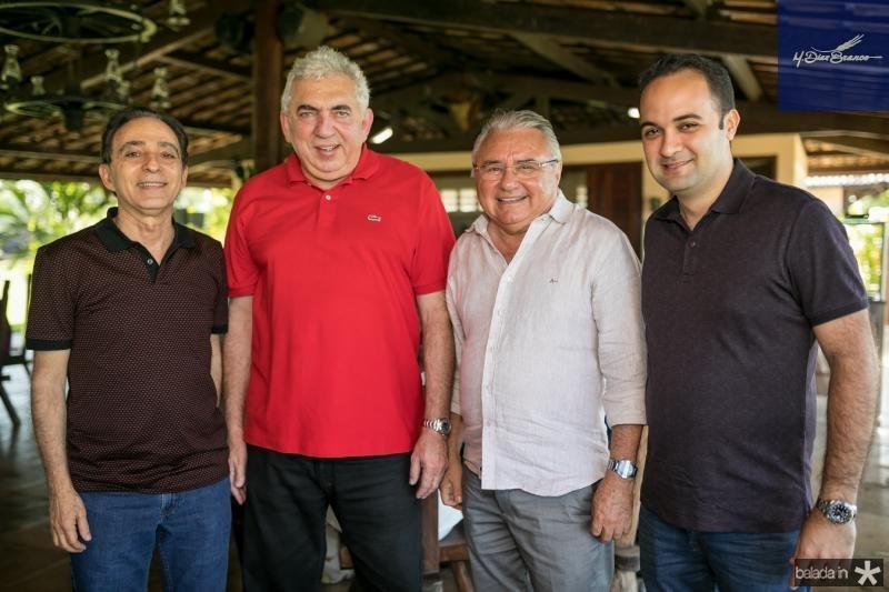 Dalto Guimaraes, Regis Moreira, Idemar Cito e Felipe Gurgel