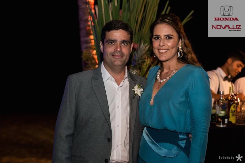 Stenio e Raquel Pimentel
