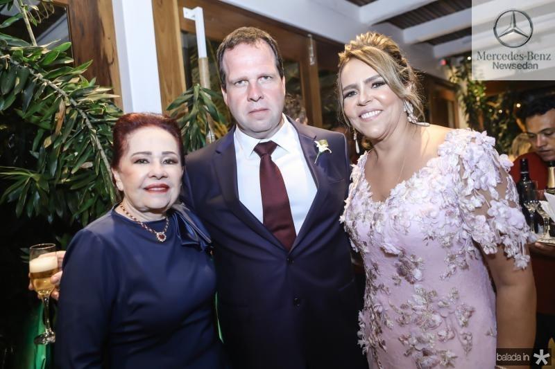 Itala, Edson e Ailza Ventura