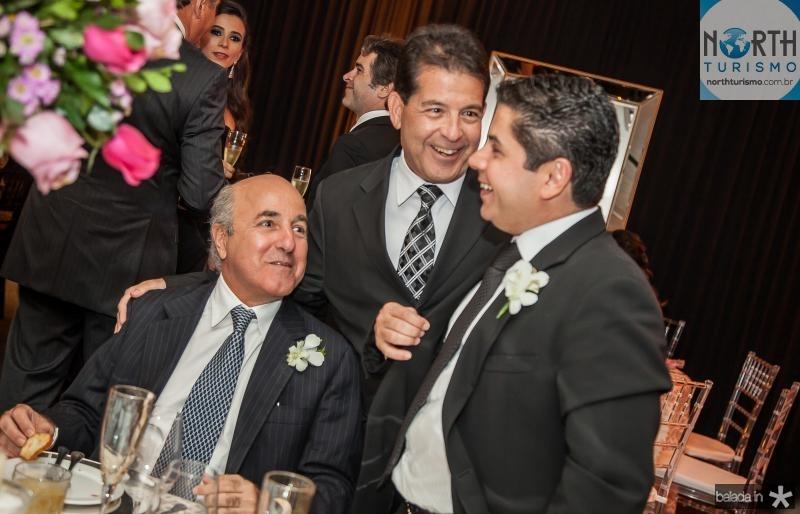 Silvio Frota, Deib Otoch e Pompeu Vasconcelos