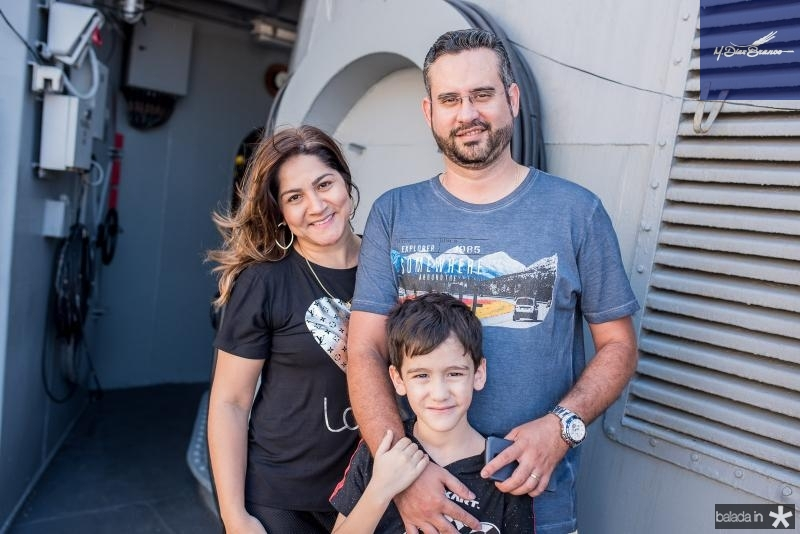 Silvia Dantas, Vitorino Primo e Joao Fernando