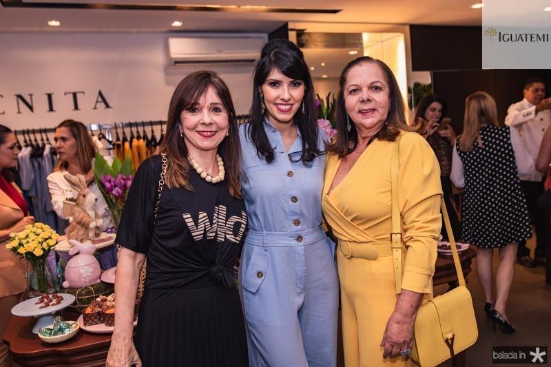 Carmen Ines, Flavia Laprovitera e Fernanda Laprovitera