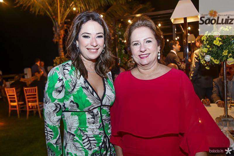 Silvinha Leal e Cristina Aragao