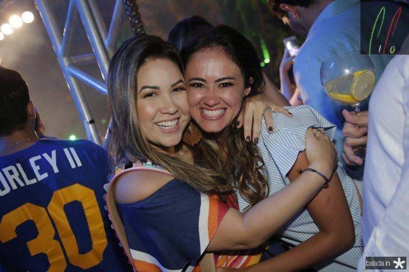 Carol Yamazaki e Mirela Bezerra