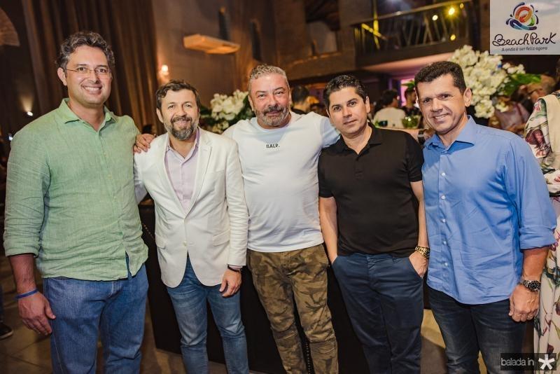 Murilo Pascoal, Elcio Batista, Claudio Silveira, Pompeu Vasconcelos e Erick Vasconcelos