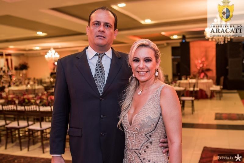 Epitacio Oliveira e Erica Queiroz