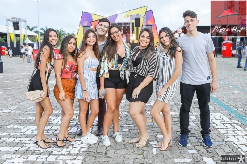 Bia Lucena, Gisele Rodrigues, Bianca Jorge, Davi Lima, Lais Menezes, Mariana Sa, Livia Tavares e Diego Alerrandro