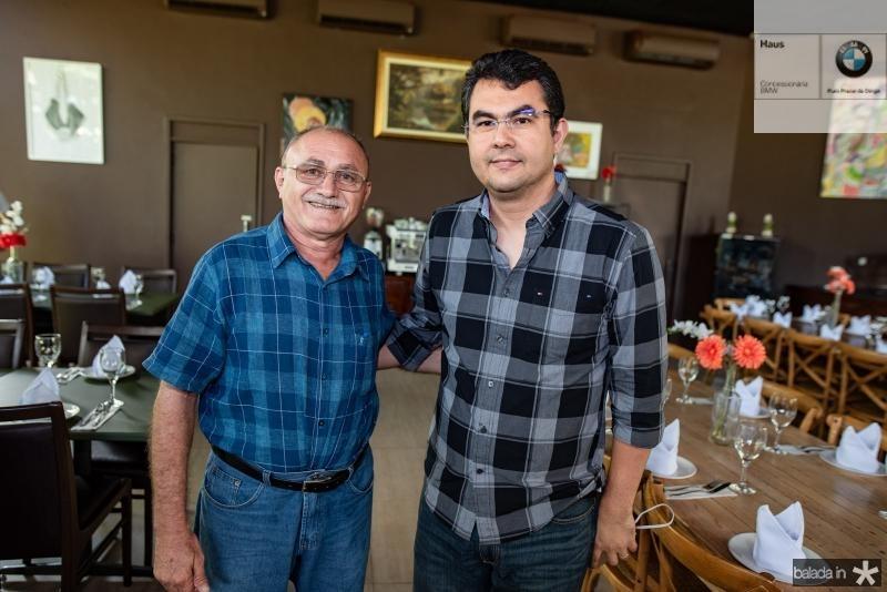 Geraldo Sinecio e Iraguassu Filho