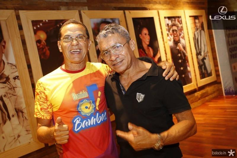 Carlinhos Palhano e Francisco Edson