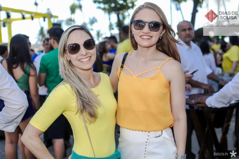 Cristiane Moura e Vanessa Almeida