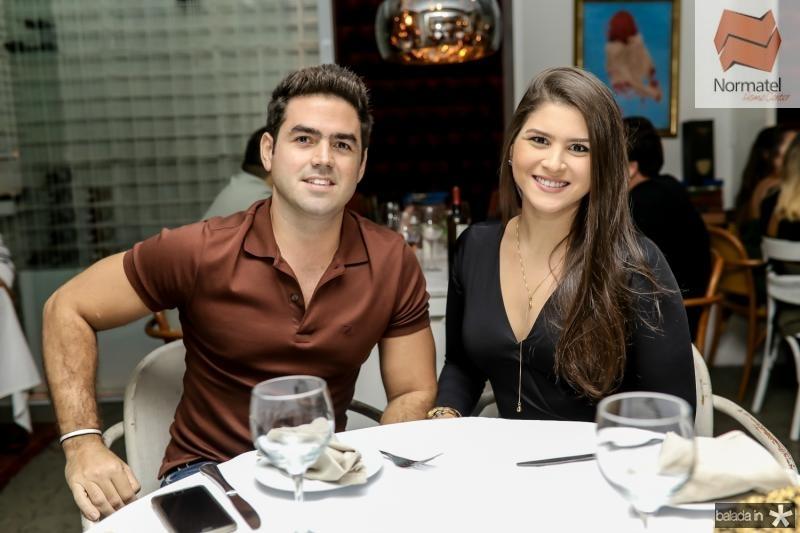 Victor Alencar e Rachel Fernandes
