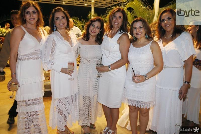 Cristiane Faria, Claudia Gradvohl, Martinha Assuncao, Nara Linhares, e Aylza Ventura
