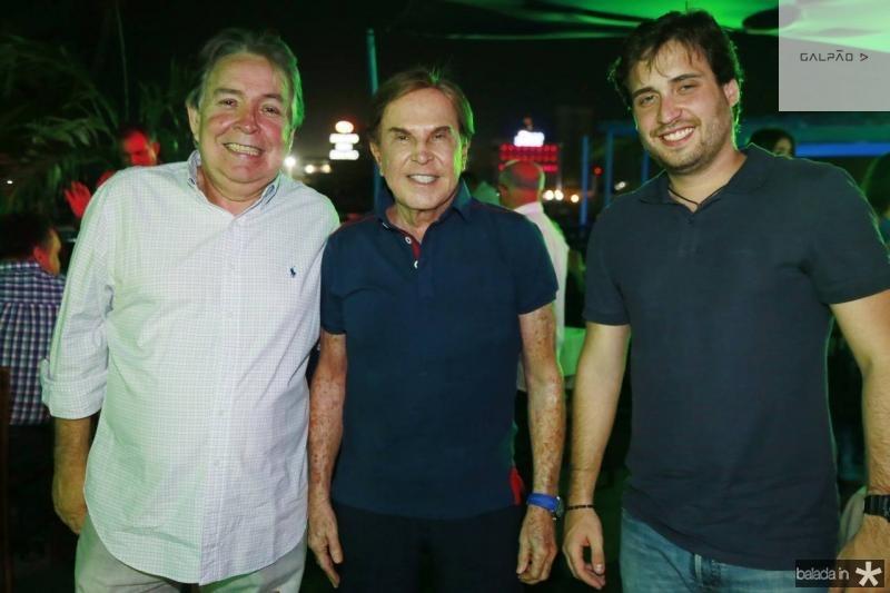 Almiro Marinho, Lala Medeiros e Bernardo Marinho