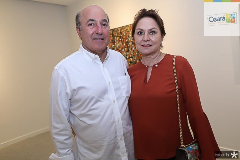 Silvio e Paula Frota