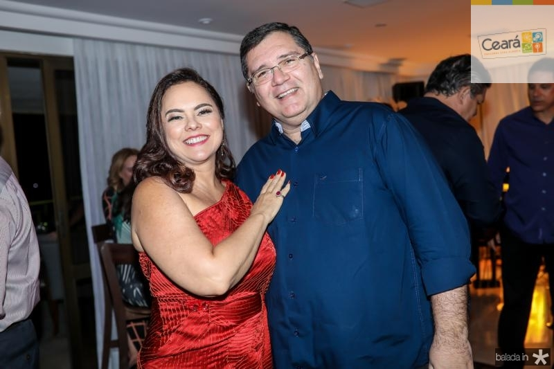 Denise Cavalcante e Walter Correa