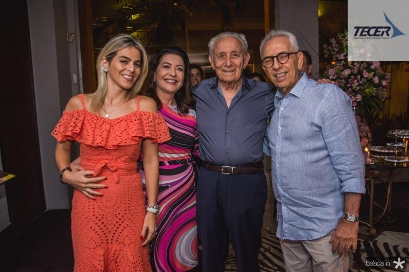 Amanda Tavora, Guirlanda Ponte, Humberto Bezerra e Paulo Ponte