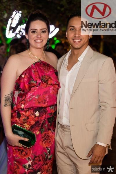 Renata Brito e Matheus Costa
