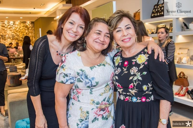 Suzane Faria, Maria Vital e Tane Albuquerque