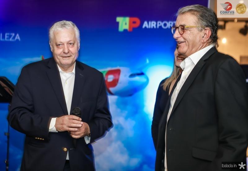 Mario Carvalho e Arialdo Pinho