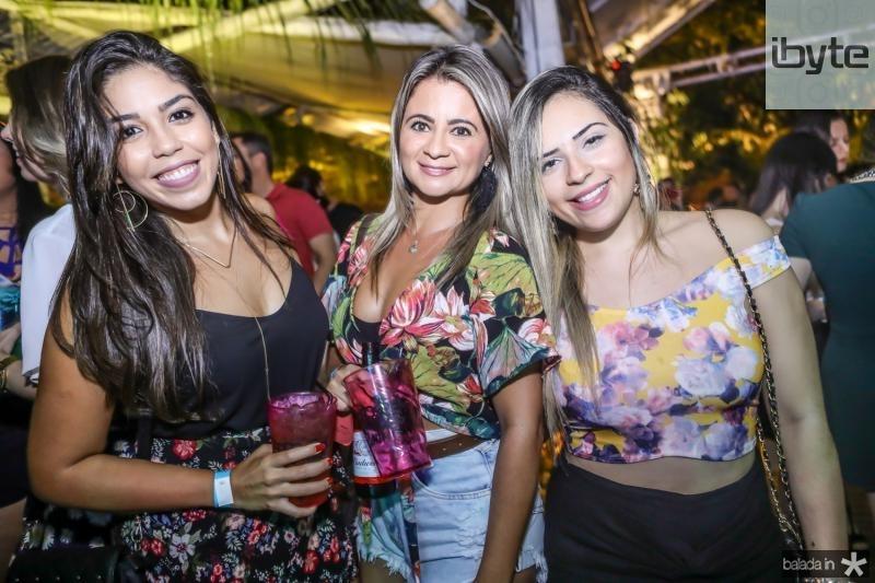 Kiss Andrade, Marcela Lacerda e Maiara Mendes