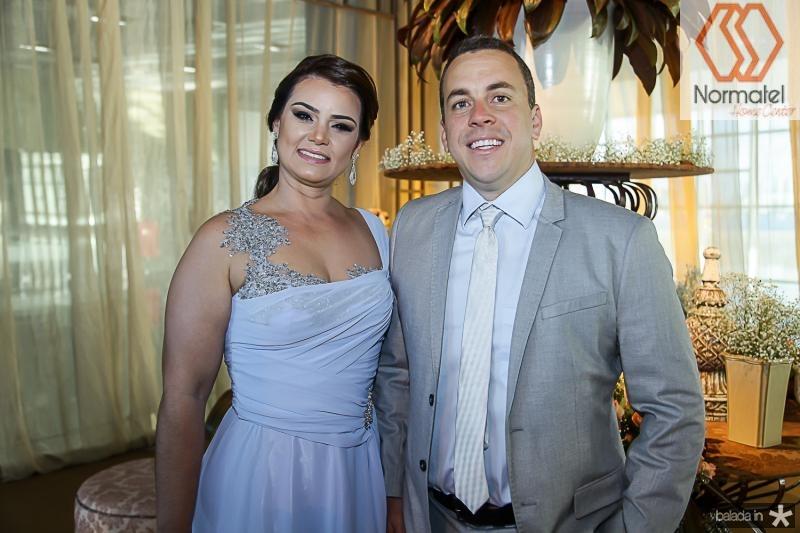 Uliana Viana e Marcelo Brito