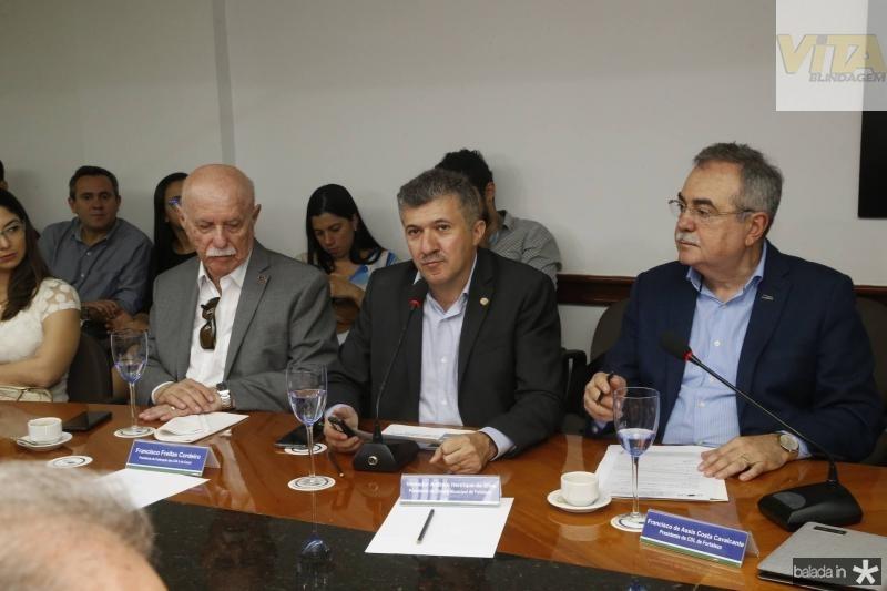 Freitas Cordeiro, Antonio Henrique e Assis Cavalcante