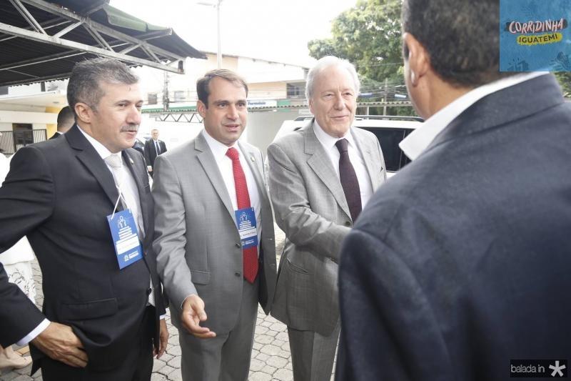 Antonio Henrique, Salmito Filho e Ricardo Lewandowski