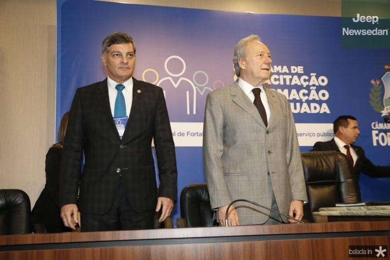 Cid Marconi e Ricardo Lewandowski