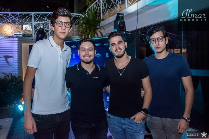 Rafael Oliveira, Olavo Barros, Igor Aragao e Everton Barros