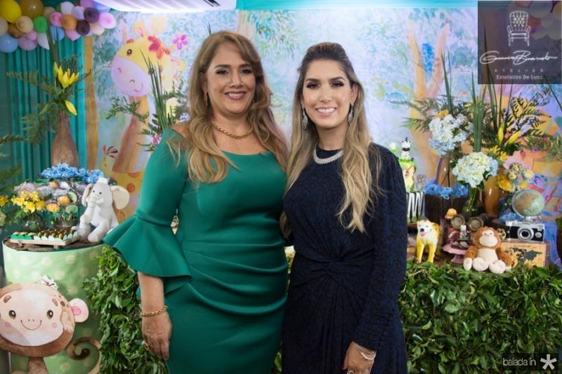 Mariza e Georgeanne Benevides