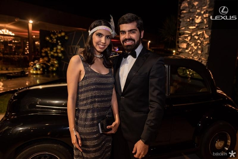 Carla Laprovitera e Pedro Garcia