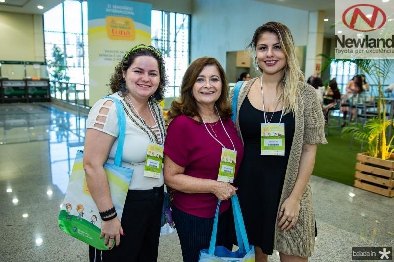 Mariana Loyola, Zita Lucia e Edyanne Lima