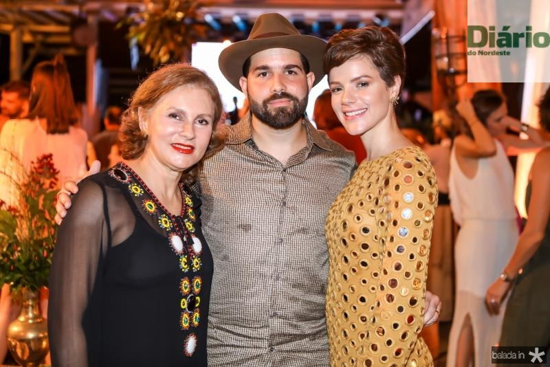 Renata Jereissati, Felipe e Paulinha Rocha