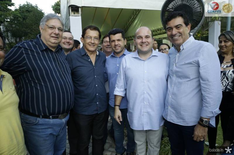Moroni Torgan, Elpidio Nogueira, Erick Vasconcelos, Roberto Claudio e Alexandre Pereira