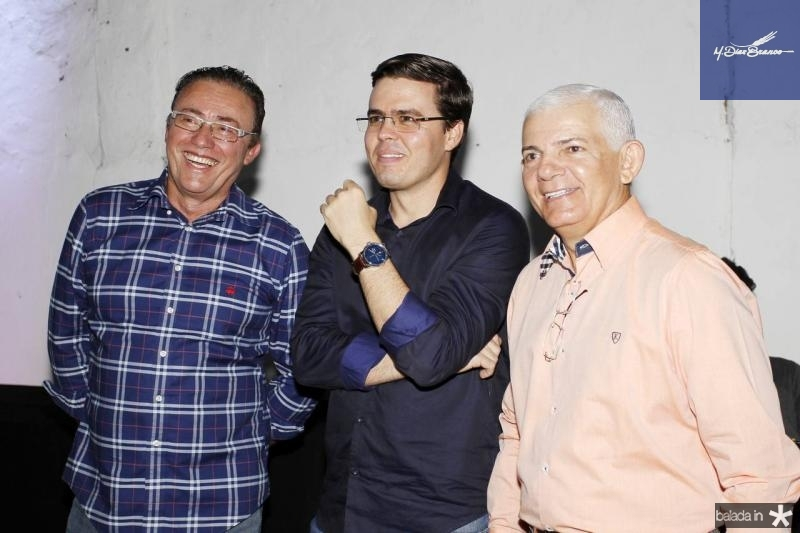 Darlan Leite, Tarsio Faco e Bosco da Cruz