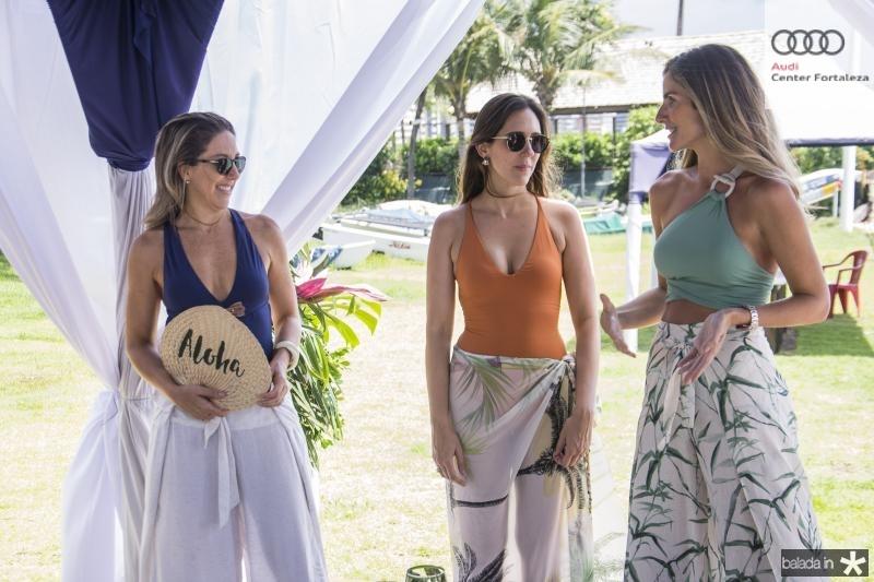 Carol Quintero, Larissa Send e Paula Pinto