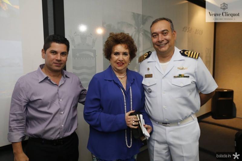 Pompeu Vasconcelos, Leda Maria e Madson Cardoso