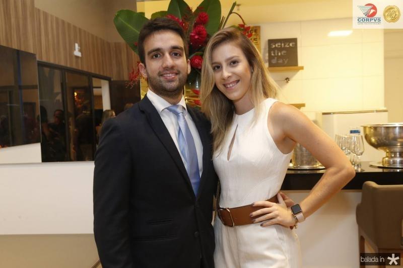 Igor Martins e Talita Pontes