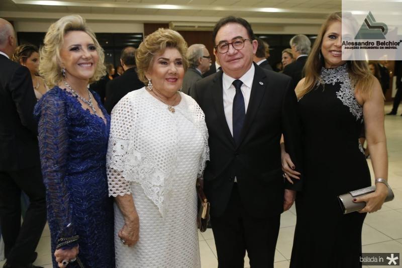 Graca e Consuelo Dias Branco, Manoel e Morgana Ximenes